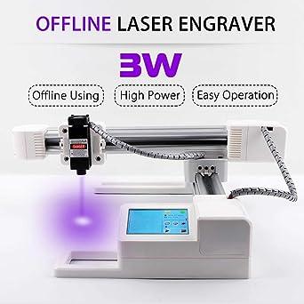 Grabador láser para bricolaje, impresora de grabado láser CNC ...
