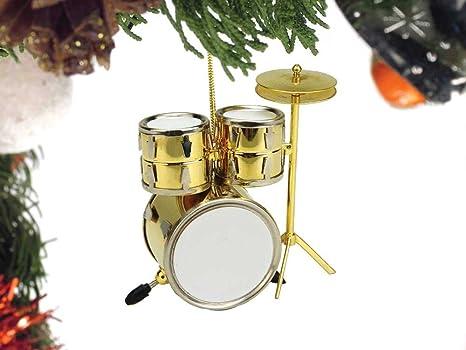 Brass Drum Set Christmas Ornament - Amazon.com: Brass Drum Set Christmas Ornament: Musical Instruments