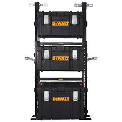 9a1cf3af DEWALT DWST08240 ToughSystem Van Racking Solution - Low Van Racking - -  Amazon.com