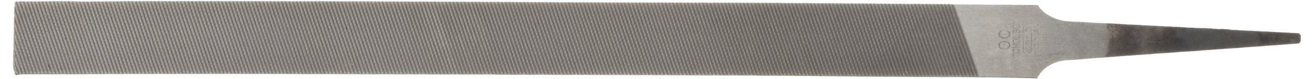 Nicholson Pillar File, Swiss Pattern, Double Cut, Rectangular, #00 Coarseness, 10'' Length