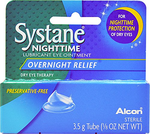 Systane Nighttime Lubricant Eye Ointment, 3.5 (Ointment 3.5g Tube)