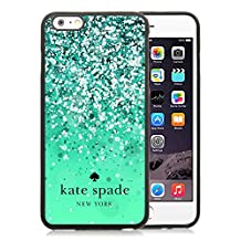 Personalized Popular Design iPhone 6plus Case Kate Spade New York Phone Case For iPhone 6plus 5.5 Inch TPU Cover Case 161 Black