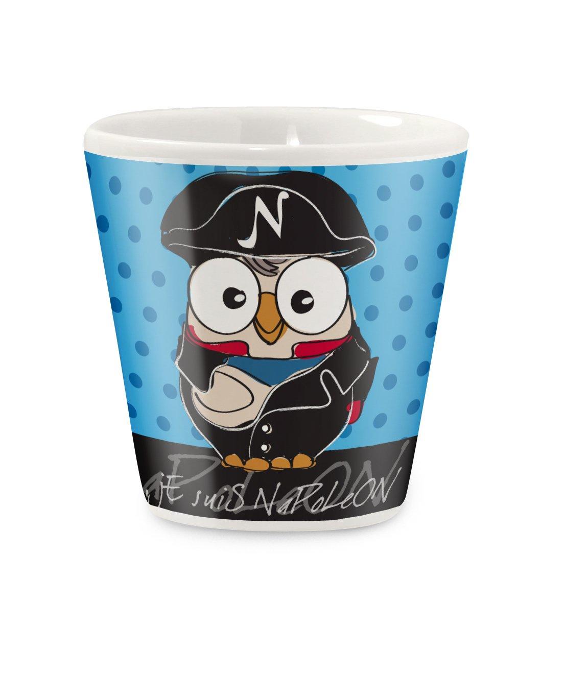 Modello Napoleone Multicolore 11 unit/à Egan PML83GU//1NB Bicchierino Caffe Porcellana
