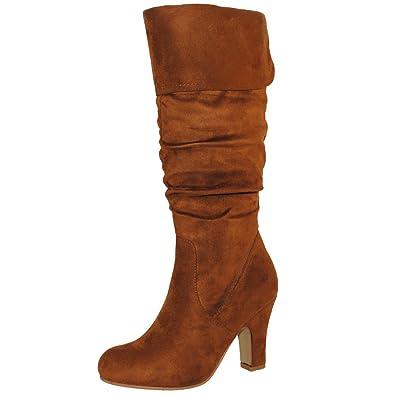 ac89ecf67fb TRENDSup Collection Women's Mid Heel Boots