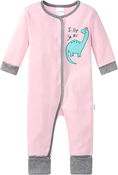 Schiesser Baby-M/ädchen Zweiteiliger Schlafanzug