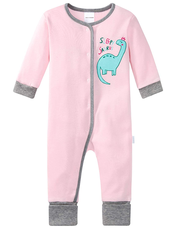 Schiesser Baby Anzug Mit Vario Fu/ß Conjuntos de Pijama para Beb/és