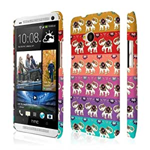 Empire Signature Series Slim-Fit Case for HTC One M7 - Retail Packaging - Elephant Zen