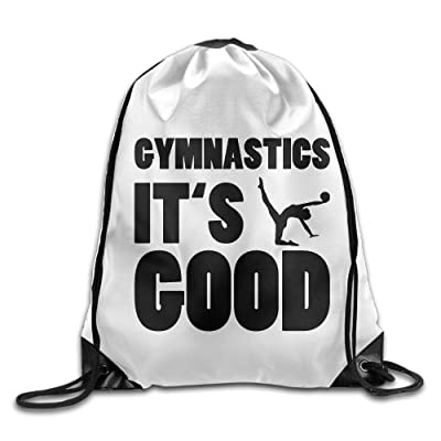 Gymnastics IT IS GOOD,Ladies Drawstring Bags,Bundle Pack,Shoulder Bags