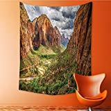 Popular art tapestry Utah Plateau Mojave Desert Southwest Erosi Navajo Art Room bedroom living room dormitory decoration 60W x 91L INCH