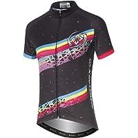 DuShow Women Cycling Jersey Short Sleeve Cycling Shirt Bicycle Bike Top