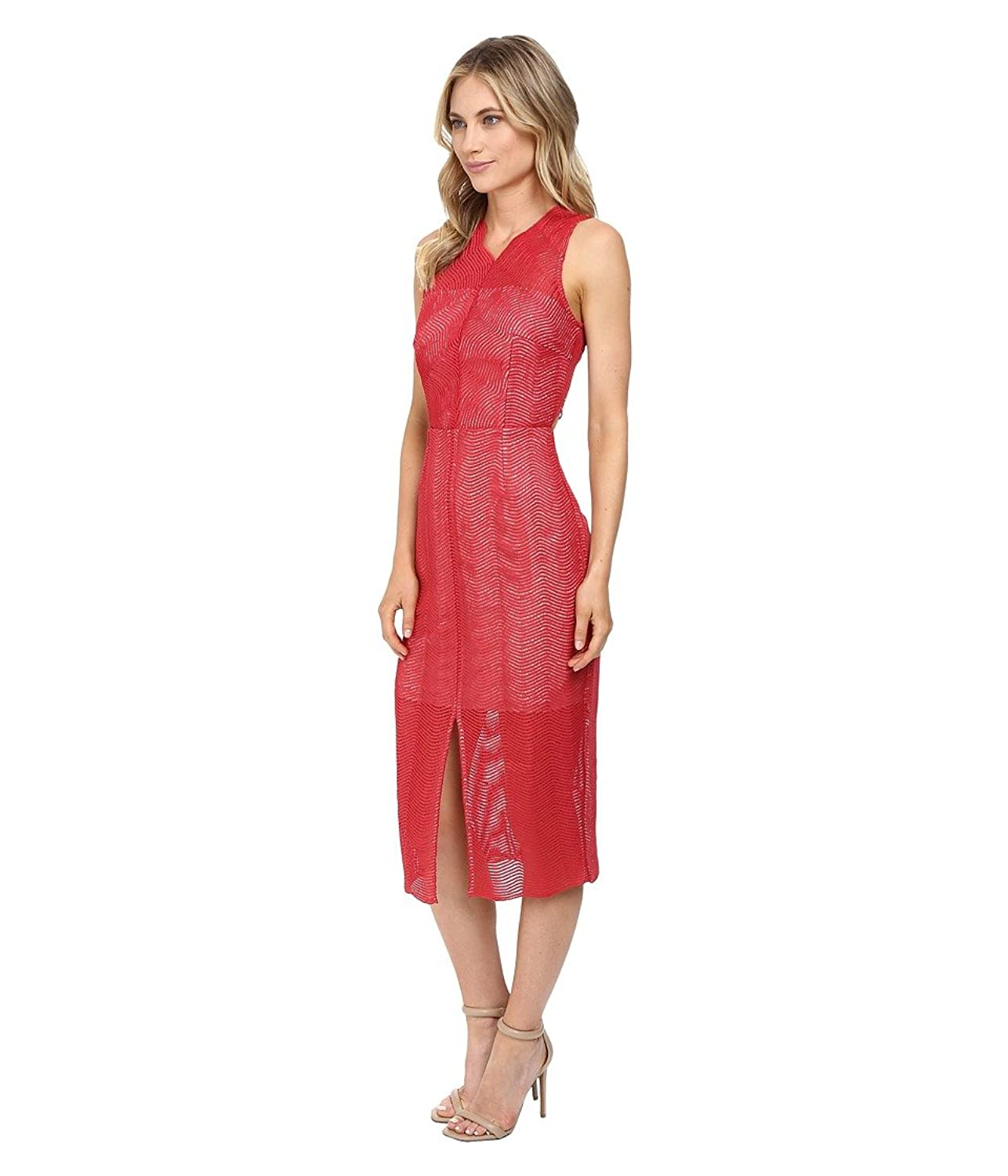 Think Twice Lace Dress - Red ochre Keepsake the Label GVH9n0