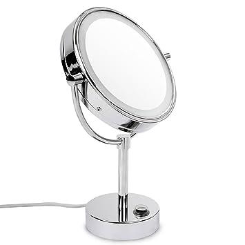 Fantastisch casa pura® Kosmetikspiegel mit LED Beleuchtung | 3 hohe  NX81