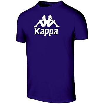 Kappa Mira Tee X5 Camiseta, Hombre, Azul (Blue Marine), XL