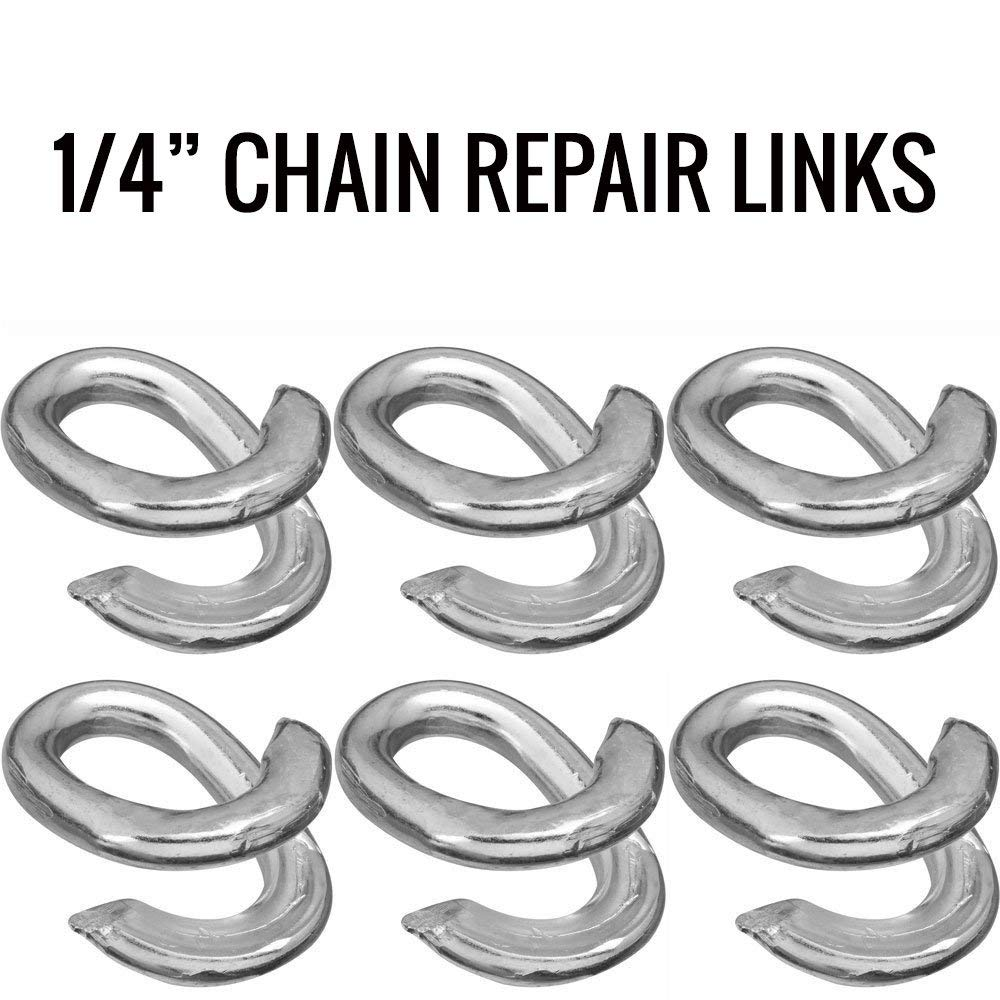 5-Pack The Hillman Group 321690 3//8 x 2 Inch Lap Links