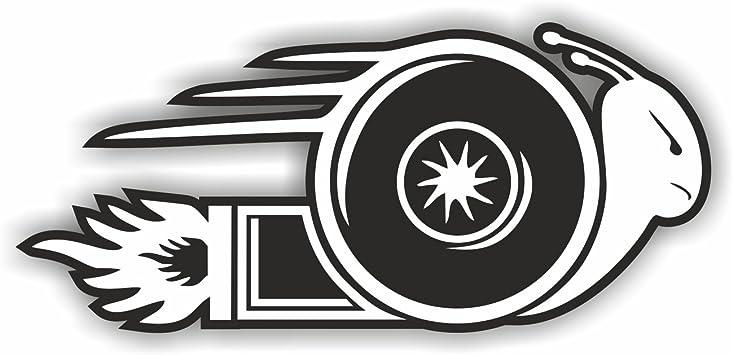 Folien Zentrum Turboschnecke Turbo Schnecke Shocker Hand Auto Aufkleber Jdm Tuning Oem Dub Decal Stickerbomb Bombing Fun W Auto