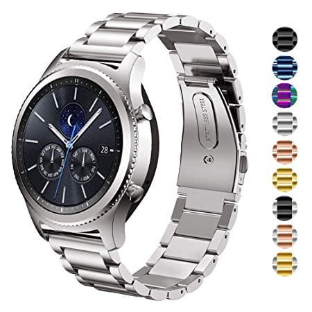 DEALELE Band Compatible para Gear S3 Frontier/Classic/Galaxy Watch ...