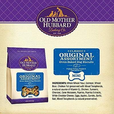 e52d125b7fcb6 Amazon.com   Old Mother Hubbard Classic Crunchy Natural Dog Treats ...