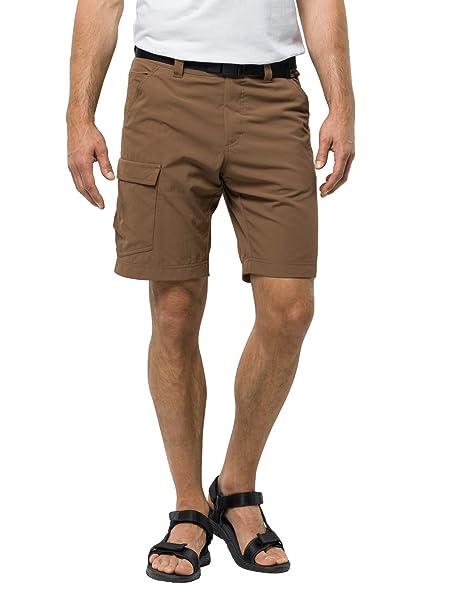 Größe 7 am besten verkaufen ausgewähltes Material Jack Wolfskin Herren Shorts Hoggar, Bark Brown, 50, 1503781 ...