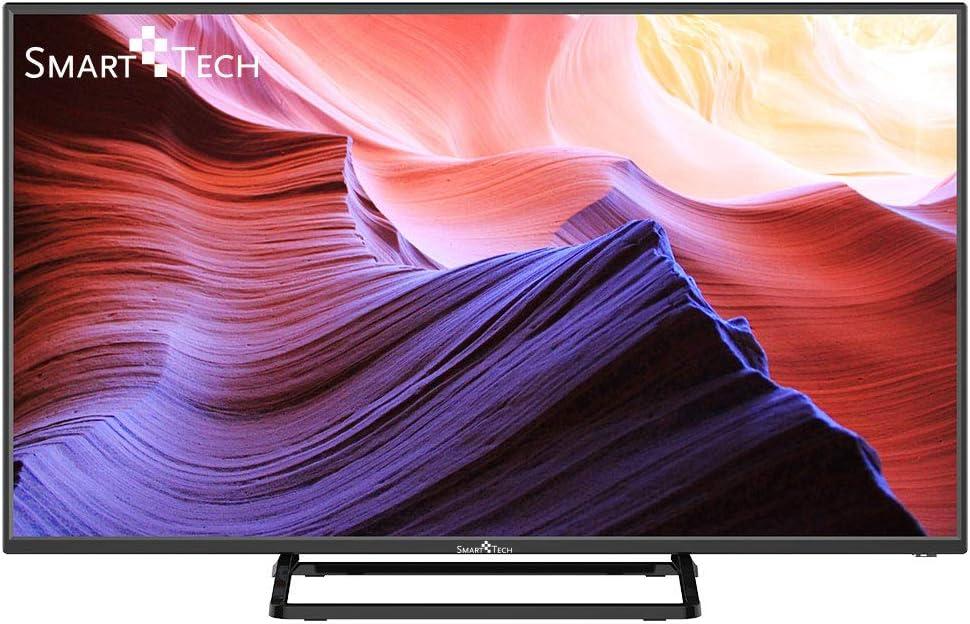 Smart-Tech SMT40P28SA41 Smart Televisor Certificación Full HD de 40 Pulgadas, con Sintonizador Triple Incorporado y Wi-Fi (DVB-T2 / T/C / S2 / S, Negro): Amazon.es: Electrónica