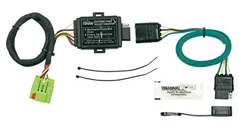 amazon com hopkins 42535 plug in simple vehicle wiring kit automotive rh amazon com Trailer Wiring Adapter Hopkins Trailer Adapters