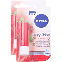 MORE Combo - Nivea Lip Balm - Strawberry, 4.8g (Buy 1 Get 1, 2 Pieces) Promo Pack