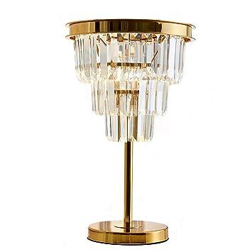 Amazon.com: Moooni - Lámpara de mesa, diseño moderno, con ...