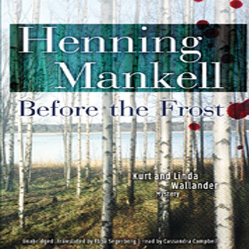 Bargain Audio Book - Before the Frost