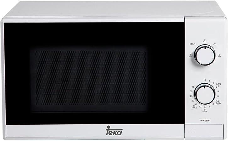Teka MW 225 G Microondas con Grill, 700W/1000W, 1050 W, 20 litros ...