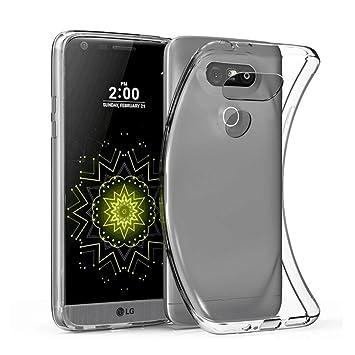Elekin Funda LG G5, Transparente Silicona Fundas para LG G5 ...