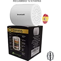 BRUMICOLD SPAIN recambio filtro ducha RF-01 cartucho universal,12