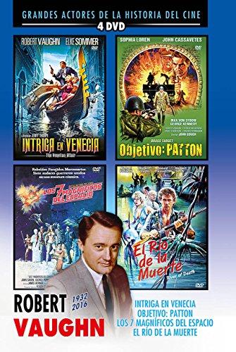Robert Vaughn Box Set - The Venetian Affair + Brass Target + Battle Beyond The Stars + River Of Death [ Non-usa Format: Pal -Import- Spain ]