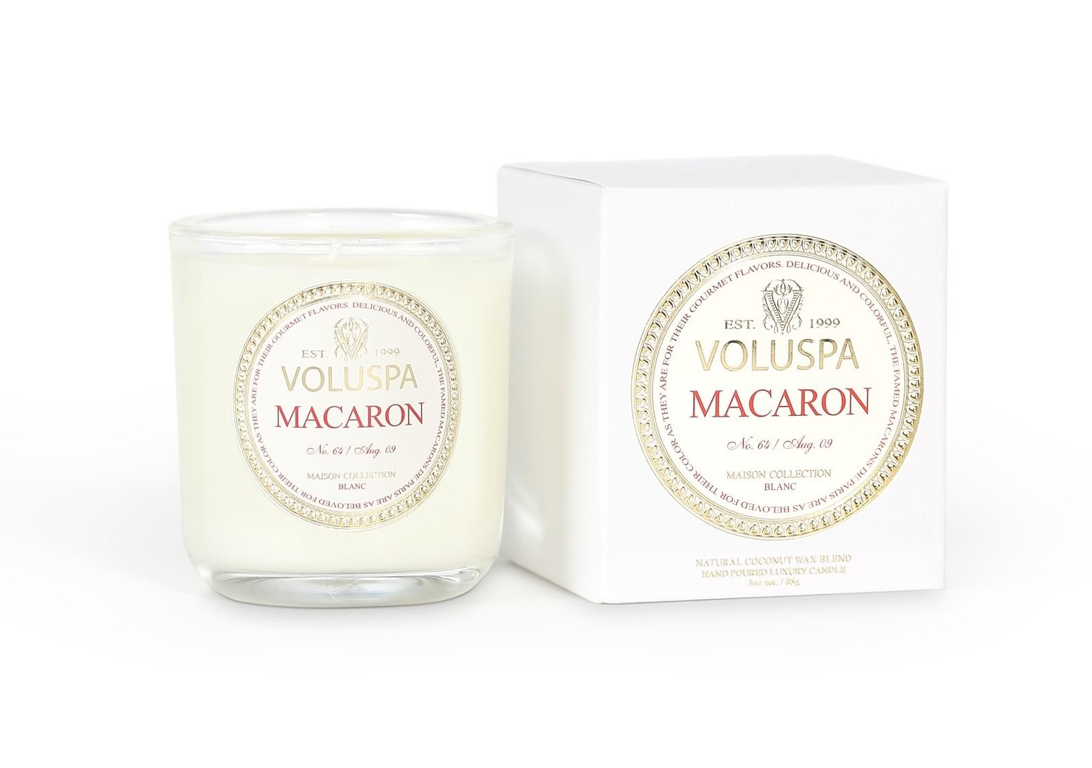 Voluspa Classic Maison Boxed Votive Candle, Macaron, 3 Ounce