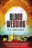 Front cover for the book Blood Wedding by P.J. Brooke