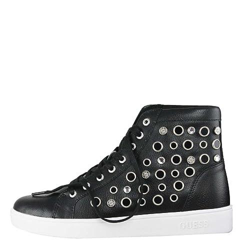 fe21b95c657862 Guess Scarpa Donna Sneakers Alte Borchie Gerta 2 Black 217: Amazon.it:  Scarpe e borse