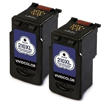 Vividcolor Remanufactured Canon PG 210XL 210 CL 211XL 211 Ink Cartridge For PIXMA MP495 IP2702