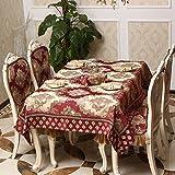 European Table-Cloth,Fabric Rectangular Chair Mat,Increase The Table Flag Coffee Cloth-C 150x180cm(59x71inch)