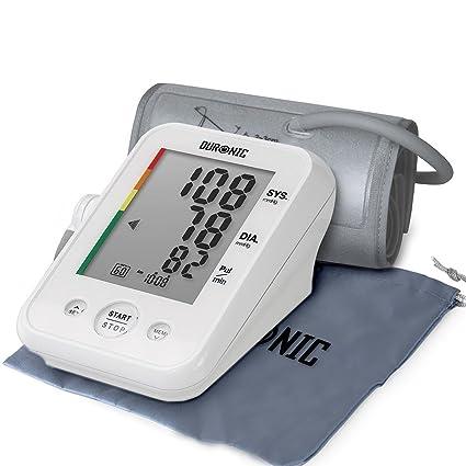 Duronic BPM150 Tensiómetro de Brazo Eléctrico con Función Memoria - Lecturas de Presión Arterial Precisas - para Uso Clínico y Doméstico - Monitor ...