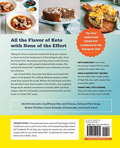 The Keto Instant Pot Cookbook: Ketogenic Diet Pressure Cooker Recipes Made Easy and Fast - smallkitchenideas.us