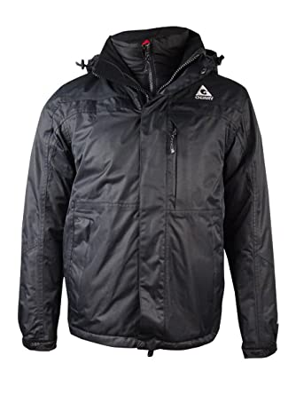 c6e4f568c1f Gerry Men's Boardwalk 3 in 1 Systems Jacket (S, Black) at Amazon ...