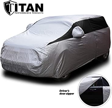 Car Cover Compatible With Toyota 2020 RAV4 Car Cover Waterproof Car Thickening Breathable All Weather For Automobiles Outdoor Full Cover Rain Sun UV Protection For Indoor And Outdoor All Year Windshie