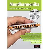 CASCHA Mundharmonika - Schnell und einfach lernen + MP3-CD