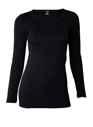 Dilling Merino Langarmshirt für Damen - Extra Feine Unterwäsche aus 100%  Bio Merinowolle  Amazon.de  Bekleidung e70042531b