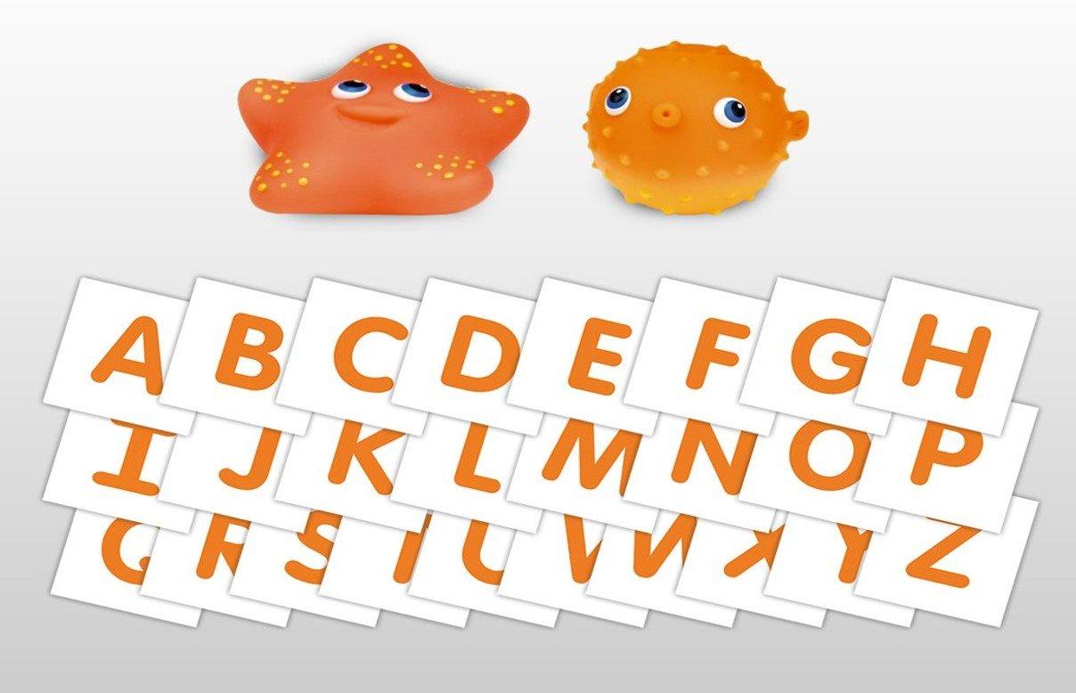 Toys 0027 Teach My Toddler Bathtime ABCs Toy Blue Teach My