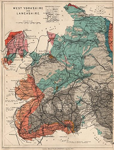 WEST YORKSHIRE AND LANCASHIRE Geological map. STANFORD, 1913 ... on map of brigham yorkshire england, map of pudsey yorkshire england, map north yorkshire uk, map of west yorkshire yorkshire and british, map west yorkshire england, map of north west uk, map west riding yorkshire uk, map of south west uk, cities in yorkshire uk, map of india's special sites, map of west ireland, map of west scotland, map of yorkshire dales uk, map of dewsbury yorkshire england, map of west midlands uk, map of west wales,