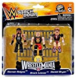 [C3 Construction] C3 construction WWE Wrestling StackDown Roman Reigns Brock Lesnar & Daniel Bryan Minifigue 3Pack [WrestleMania] [parallel import goods]