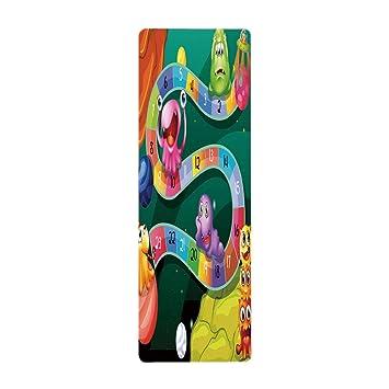 iPrint toalla de yoga, 100% microfibra, toalla de yoga ...