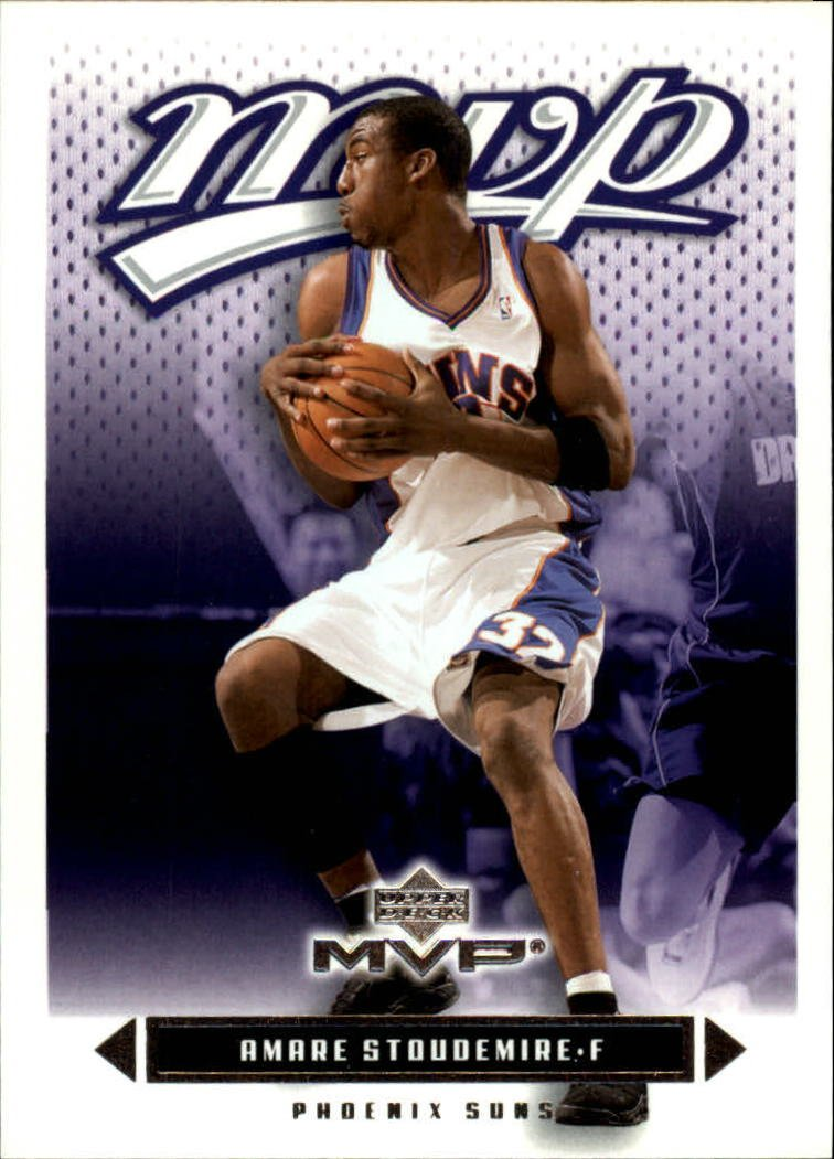 086979dd77a 2003-04 Upper Deck MVP  142 Amare Stoudemire at Amazon s Sports  Collectibles Store
