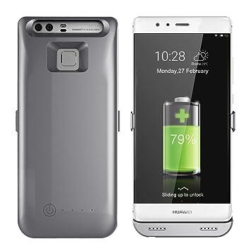 Funda Batería Huawei P9, 3800mAh Paquete de Cargador Portátil para Huawei P9, Recargable Extendida de Carga de Reserva de Energía Del Banco de La ...