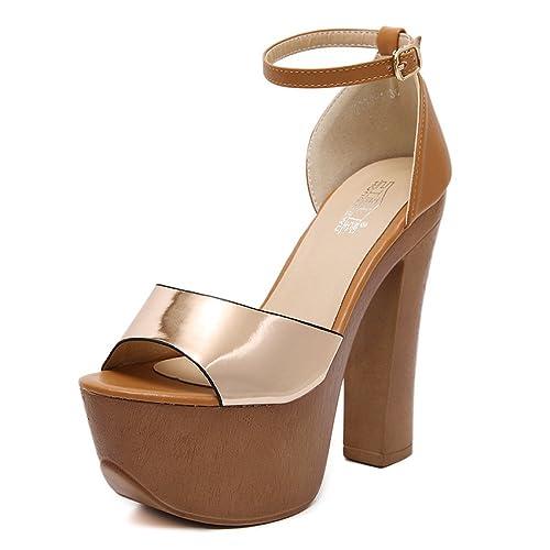 Gloss De Mujer Ordcbexw Extreme Verano Para Plataforma Sandalias Zapatos JF13cKulT