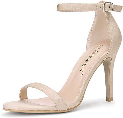 Stiletto High Heels Ankle Strap Sandals